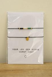 Armbandjes | hanger goud