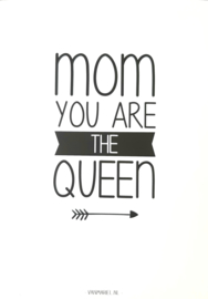 Kaart | Mom you are the queen