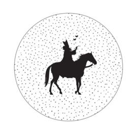 Muurcirkel | Sint met paard