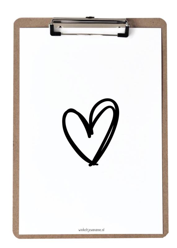 Klembord & poster | Hart