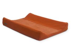Jollein Waskussenhoes Brick Velvet  Kleur Rust
