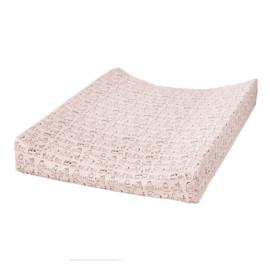 Cottonbaby aankleedkussenhoes dierenprint roze