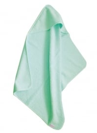 Cottonbaby badcape wafeldoek mint groen