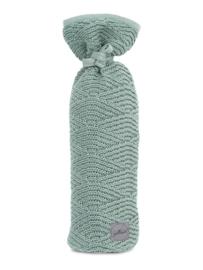 Stijlvolle gebreide kruikenzak uit de River knit collectie van Jollein.