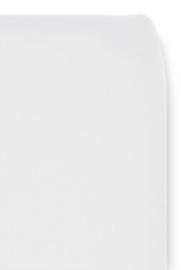 Cottonbaby ledikant hoeslaken uni wit