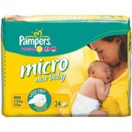 Pampers Micro New baby