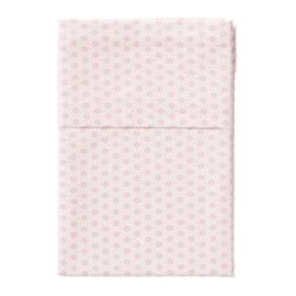 Cottonbaby ledikantlaken boog roze