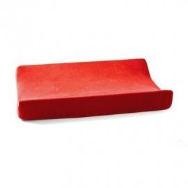 Cottonbaby aankleedkussenhoes velours rood