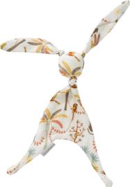 Cottonbaby knuffelkonijn Palm print