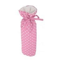 Cottonbaby kruikenzak roze stip