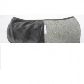Pelusa badcape grijs / zilvergrijs