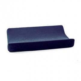 Cottonbaby aankleedkussenhoes velours marine blauw