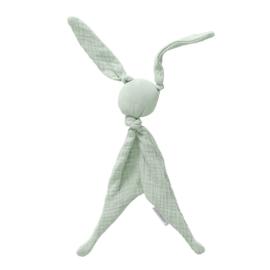 Cottonbaby soft knuffelkonijn mint groen