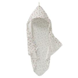 Cottonsoft badcape Flower