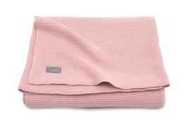 Jollein ledikantdeken Basic knit blust pink