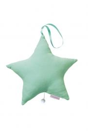 Cottonbaby muziekster mint groen