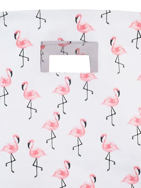 Mand XL Canvas Flamingo