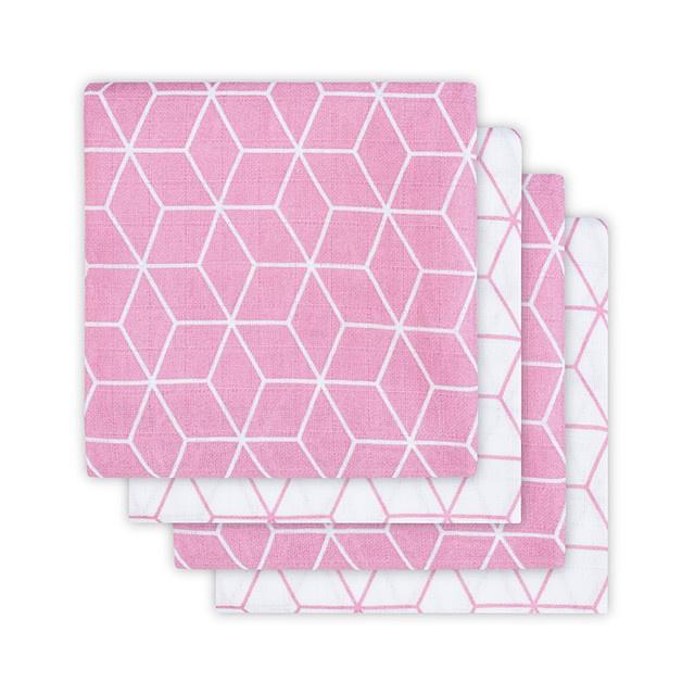 Jollein Hydrofiel  luiers Graphic roze