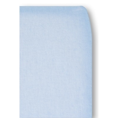 Cottonbaby ledikant hoeslaken chambray blauw