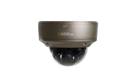 QTN8044D 4MP Dome camera met POE en MIC aansluiting