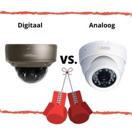 Beveiligingscamera analoog of digitaal