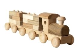 Trein met Blokjes