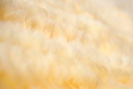 Handgeweven Gelig Wit Kleed