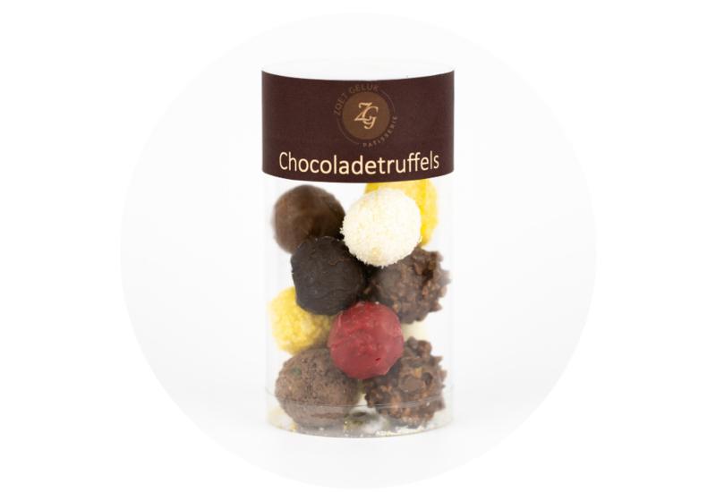 Gemengde chocolade truffels
