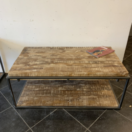 Salon tafel robuust rechthoekig