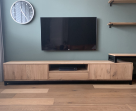 Massief eiken tv meubel
