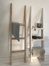 Decoratie ladder eikenhout