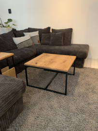 Eikenhouten salontafel Lotte