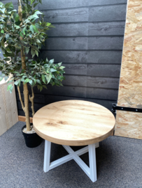 Eiken salon tafel Bridget