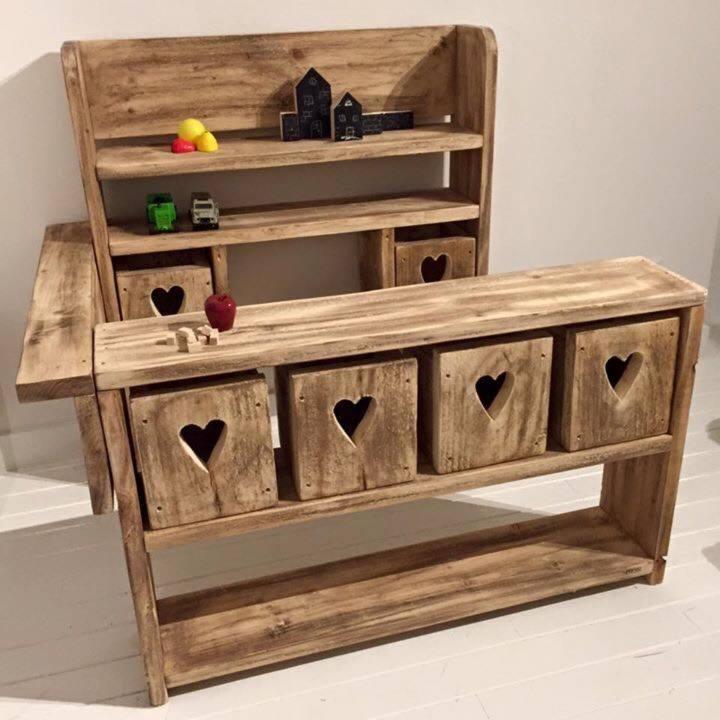 Kinderwinkel steigerhout