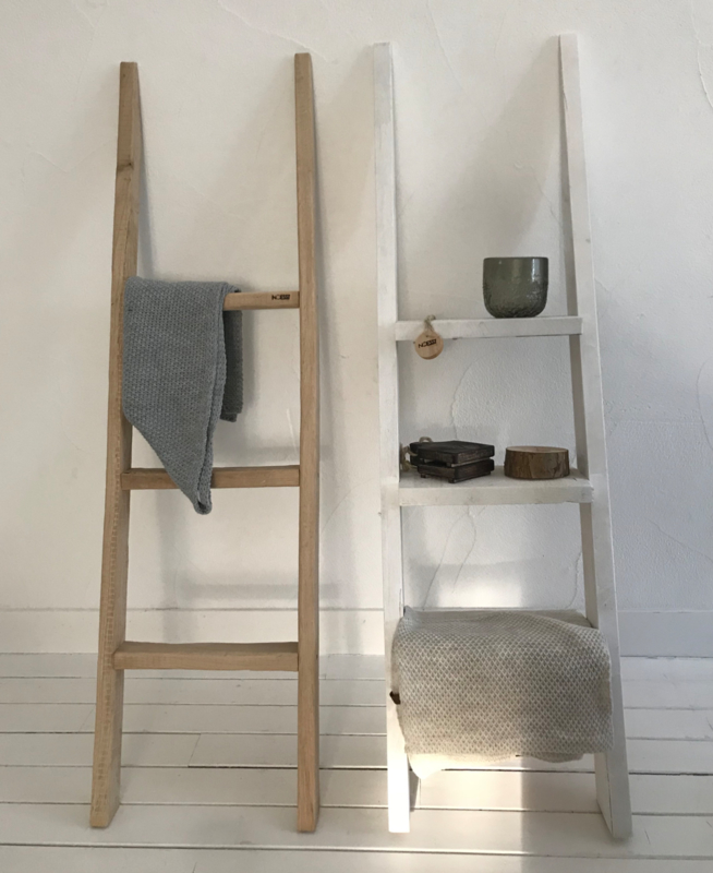 Decoratie ladder steigerhout