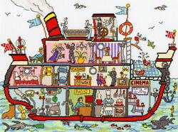 Cut thru - Cruise ship