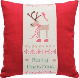 cushion reindeer
