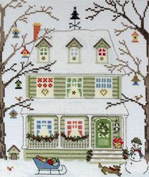 New England homes - Winter