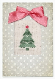 Postcard christmas tree