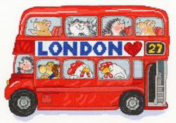 Margaret Sherry - London bus