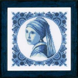 Meisje met de parel-Johannes vermeer