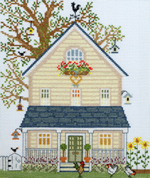 New England homes - Summer