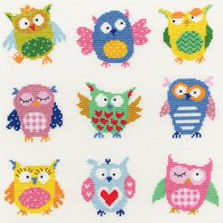 Slightly Dotty - Slightly dotty owls