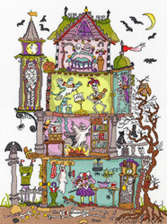 Cut thru - haunted house