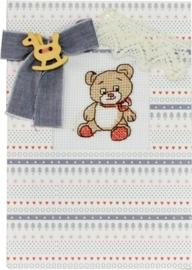 Postcard teddy bear