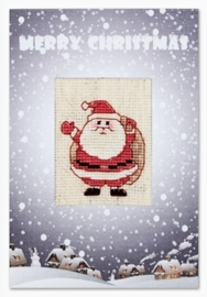 Postcard santa