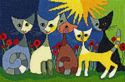 Rosina Wachtmeister - Five Cats