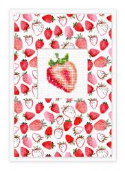 Postcard strawberry