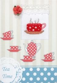 Postcard tea time