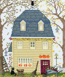 New England homes - Fall